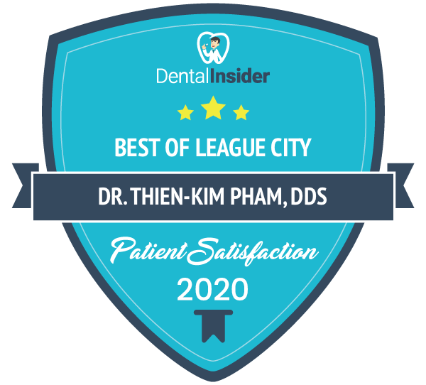 Best of League City - Patient Satisfaction by Dental Insider